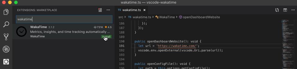 VS Code screen shot